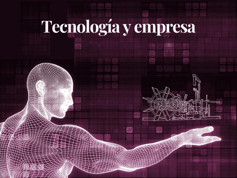 Hombre digitalizado simulando las nuevas tecnologías para mejorar procesos