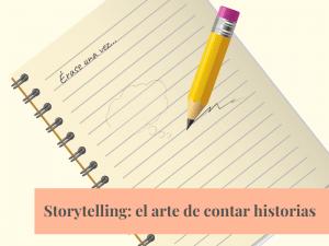 Cuaderno y lápiz preparados para contar historias